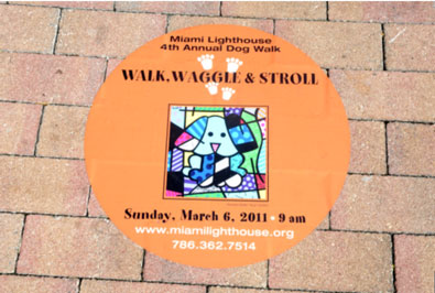 2011 Walk, Waggle & Stroll at the Fourth Annual Miami Lighthouse Dog Walk