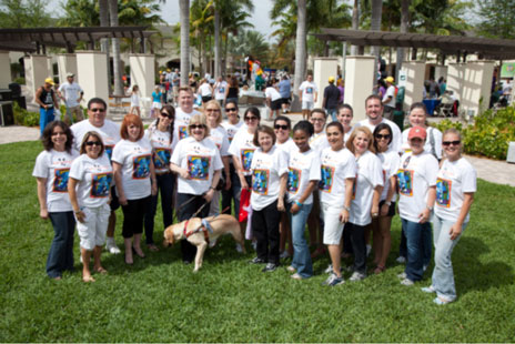 Your 2011 Walk, Waggle & Stroll Miami Lighthouse Staff Members