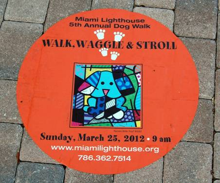 2012 Walk, Waggle & Stroll at the Fourth Annual Miami Lighthouse Dog Walk