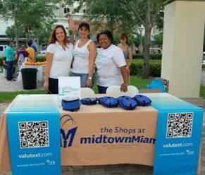 Shops at Midtown Miami representatives