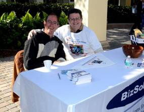 Andy Elwell and Ramon Ariste of BizSolutions