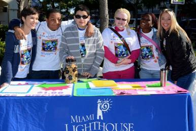 Miami Lighthouse for the Blind Transition instructors and students