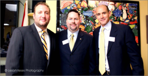Cameron Sisser, Board Director Kent Benedict and Chairman of the Board Agustin Arellano, Jr.
