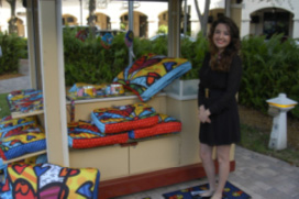BRITTO Pop-Art Cart