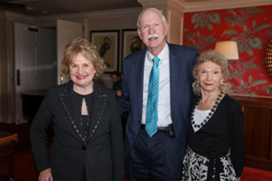 CEO Virginia Jacko, Dr. Harry Flynn and Board Director Angela Whitman