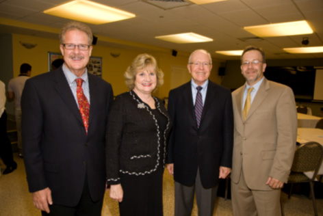 Craig McKeown, M.D., Member, Miami Lighthouse Heiken Children's Vision Program Advisory Committee; Virginia A. Jacko, President & CEO Miami Lighthouse; Richard Forster, M.D., former Miami Lighthouse Board Director; Sander Dubovy, M.D., Miami Lighthouse Board Director.