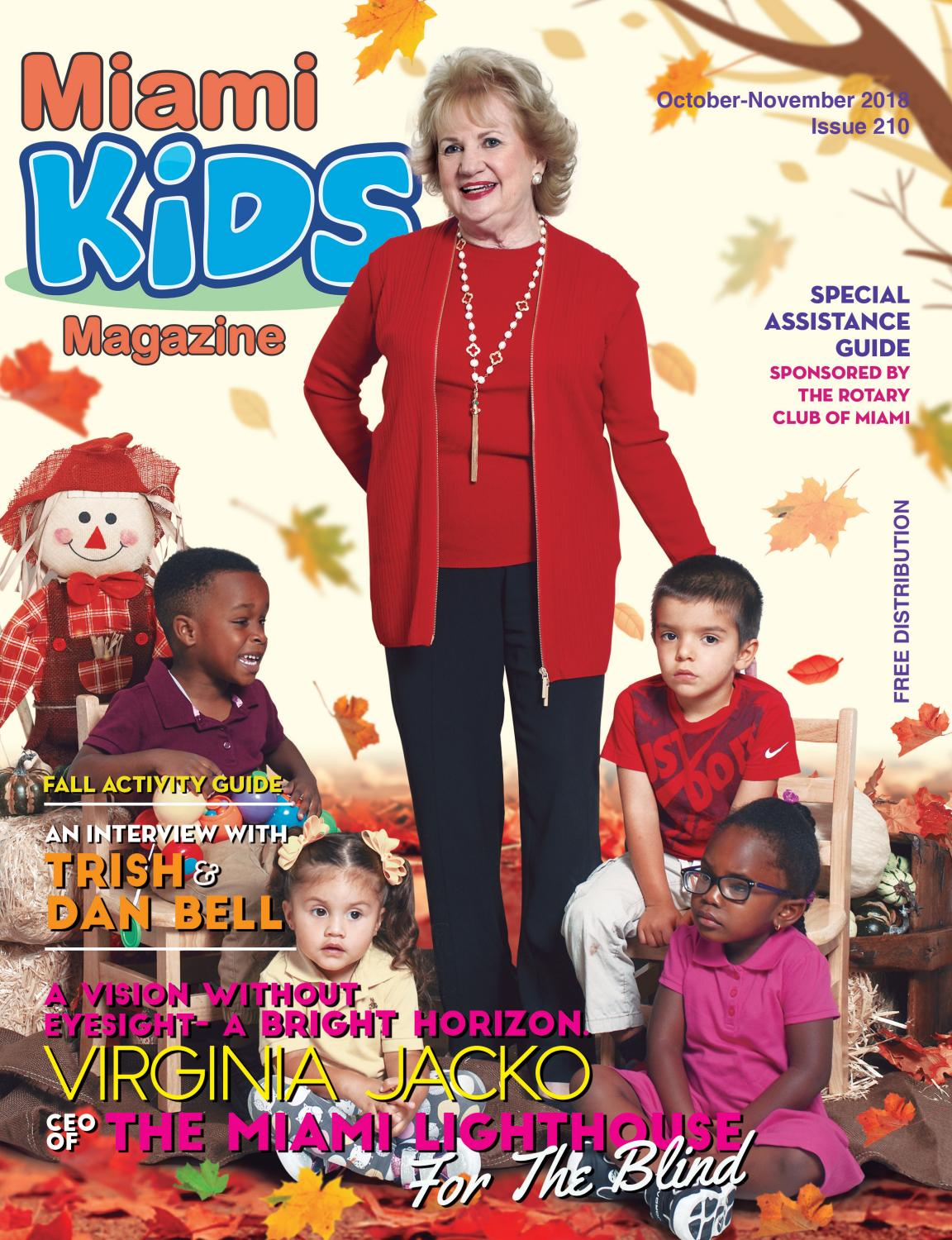 Miami Lighthouse Learning Center for Children™ featured on cover of Miami Kids Magazine