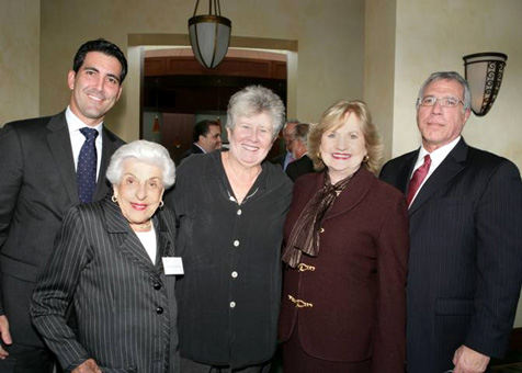 Bessemer Trust Managing Director Michael Marquez, Florence Hecht, Commissioner Sally Heyman, CEO Virginia Jacko, Board Director Ray Casas