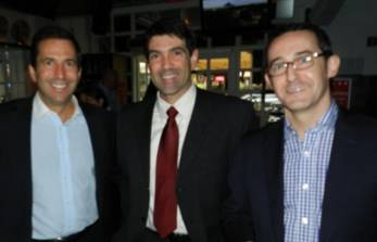 Lyon Roth, YPOL Committee Member Michael Jimenez and Stephan Rogers.