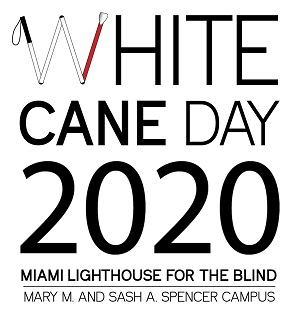 White Cane Day 2020 Logo
