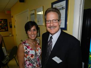 Maricarmen Perez-Blanco, M.D., Miami Lighthouse Board Director; Dr. Craig McKeown, Member, Florida Heiken Children's Vision Program Advisory Committee.