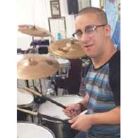 Music Program percussionist Adriel